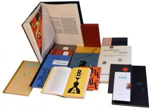 Bibliophile Editionsreihen (c) Gaby Waldek